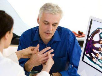 Bezoek aan de reumatoloog