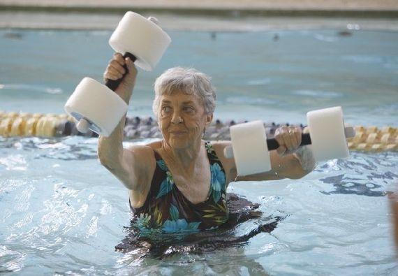Wonderbaarlijk Aquarobics, ideaal voor mensen met artrose | Artrose Blog RH-66