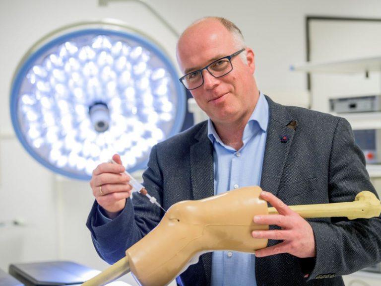 Injecteerbare pleister voor artrosepatiënten