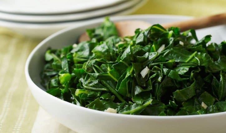 Donker groene bladgroenten als voeding bij artrose